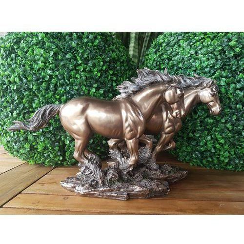 Veronese Wyjątkowa rzeźba - konie w galopie-
