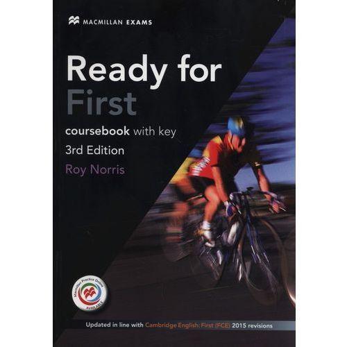 Ready for First. Podręcznik (z Kluczem) z Kodem do Ćwiczeń Online + CD (opr. miękka)