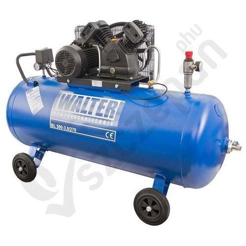 Walter Kompresor tłokowy sprężarka  blue 270l 390l/min - blue