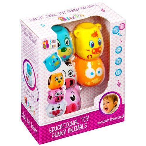 Euro-trade Zabawka edukacyjna zabawne zwierzątka - bam bam (5902012788509)