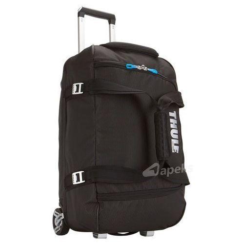 crossover rolling duffel 56l torba podróżna na kółkach / black - black marki Thule