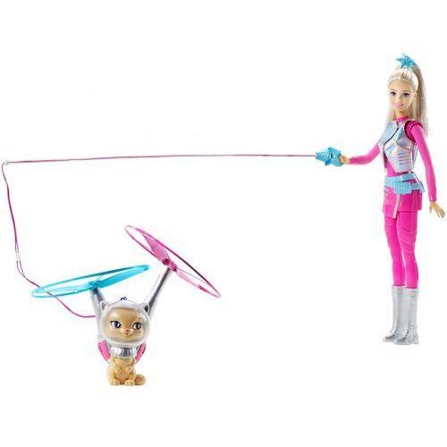 Barbie Gwiezdna Przygoda Barbie i latający kotek (0887961379440)