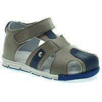 Sandały dla dzieci Kornecki 06571 z zabudowanym przodem, kolor niebieski