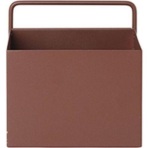 Pojemnik ścienny Ferm Living kwadratowy ceglasty, 3347