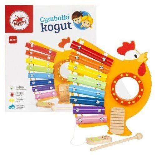 Playme Cymbałki drewniane kogut (5907791578778)