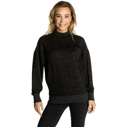 Bluza - sunday sun crew fleece black marled (3442) rozmiar: xs marki Rip curl