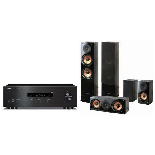 Zestaw stereo YAMAHA RS202D + Pure Acoustics Nova 6 Czarny DARMOWY TRANSPORT (2900115032379)