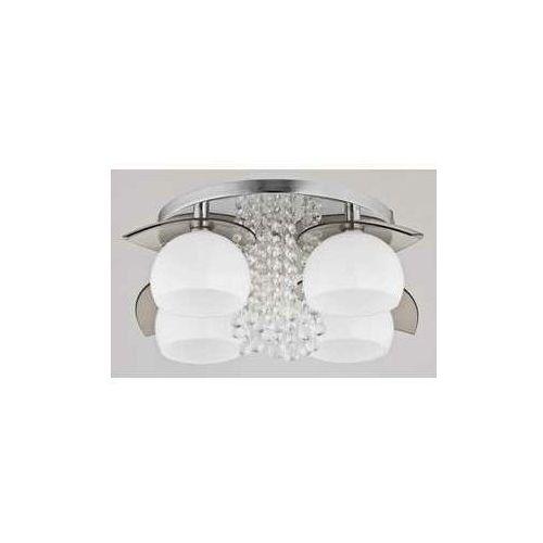 Alfa Kaskada 60132 plafon lampa sufitowa 4x40W E14 biały/chromowy (5900458601321)