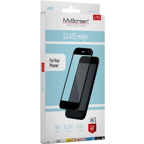 Szkło Hartowane MyScreen Lite Glass Edge iPhone 7 Plus,8 Plus czarny