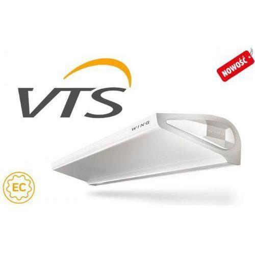Vts euroheat Vts wing e100 ec kurtyna powietrzna z grzałkami elektrycznymi