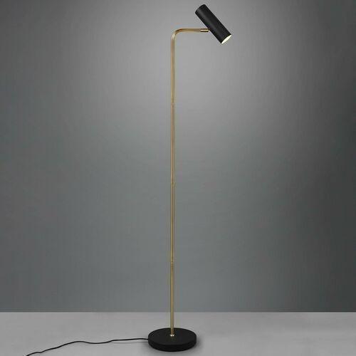Trio marley 412400108 lampa stojąca podłogowa 1x35w gu10 mosiądz mat (4017807488760)