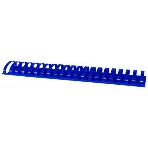 Grzbiety do bindowania OFFICE PRODUCTS, A4, 51mm (510 kartek), 50 szt., niebieskie, 20245115-01