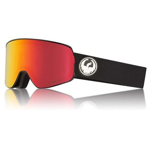 Dragon Gogle snowboardowe - nfx2 two black/redion+rose (332) rozmiar: os