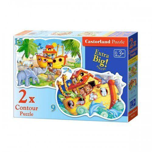 Castor Puzzle x 2 kontur - noah's ark