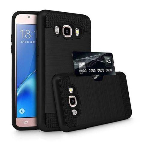 alufit cs black | lekka i cienka obudowa dla modelu samsung galaxy j5 - black marki Tech-protect