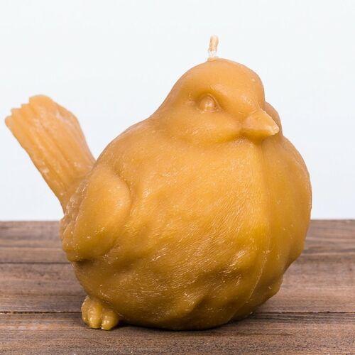 Świeca woskowa ptak duży (130 mm / 200 mm) Łysoń (5903175401502)