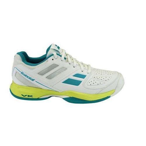 Babolat Puslion All Court W - white/blue - produkt z kategorii- Tenis ziemny