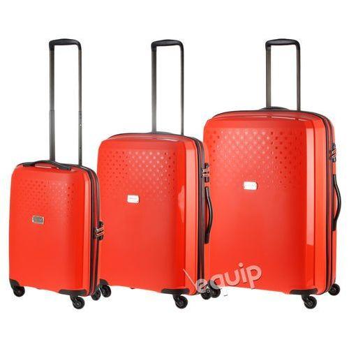 Zestaw walizek Puccini PP010 - pomarańczowy z kategorii Torby i walizki