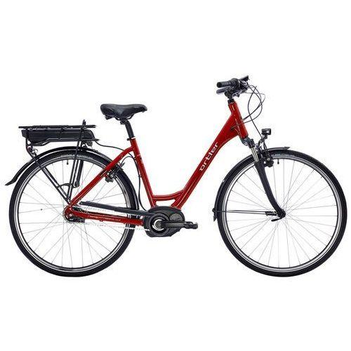 """montreux wave ltd rower elektryczny miejski czerwony 45 cm (28"""") 2018 rowery elektryczne marki Ortler"""