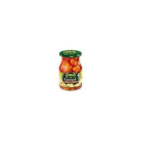 Czosnek w oleju z ziołami 190g Smak
