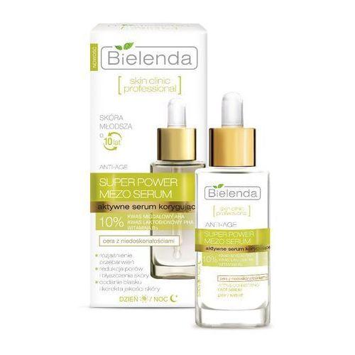 Bielenda , skin clinic professional, aktywne serum korygujące na dzień i noc, 30 ml