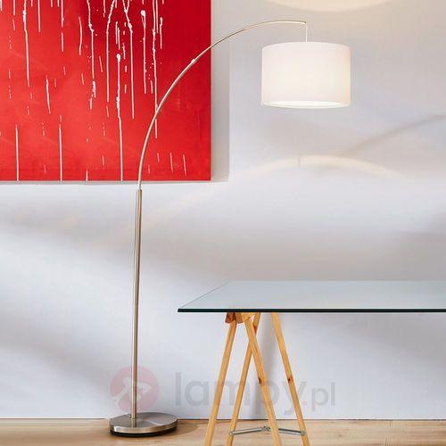 CLARIE - Lampa podłogowa Biała