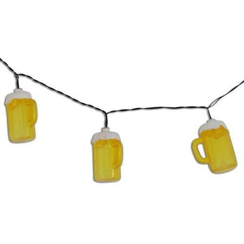 NÄve Imprezowy łańcuch świetlny cerveza z kuflami piwa (4003222833179)
