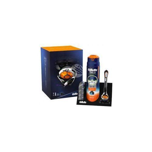 Gillette Set fusion proglide flexball (m) maszynka do golenia + 3 wkłady + żel do golenia 170ml