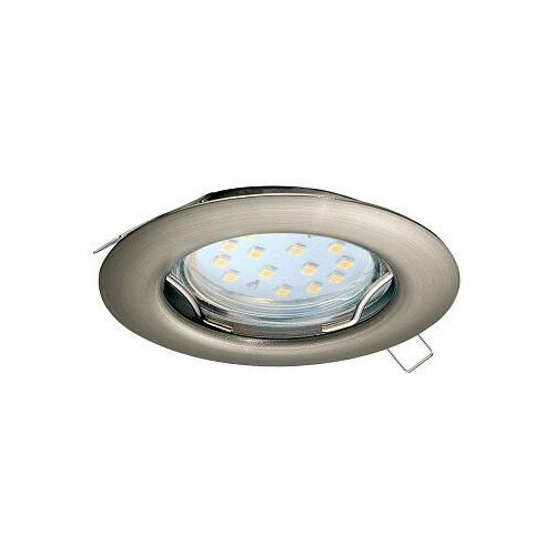 Eglo Peneto 98645 oczko lampa wpuszczana downlight 1x3W GU10 nikiel, kolor Nikiel