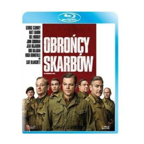 Obrońcy skarbów (Blu-Ray) - George Clooney DARMOWA DOSTAWA KIOSK RUCHU (5903570070501)