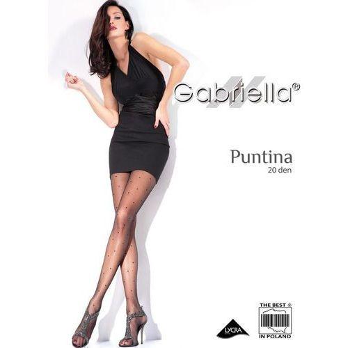 Rajstopy Gabriella Puntina 471 20 den 4-L, beżowy/beige. Gabriella, 2-S, 3-M, 4-L