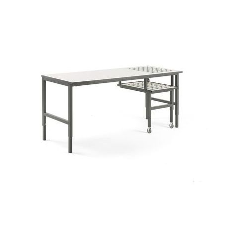 Aj produkty Stół roboczy cargo, z podajnikiem kulowym i wysuwaną półką, 2000x750 mm