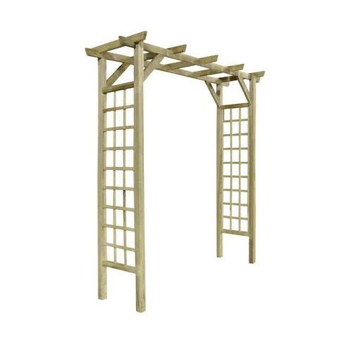 Stelmet Pergola ogrodowa 210 x 72 x 214 cm drewniana (5900886390132)