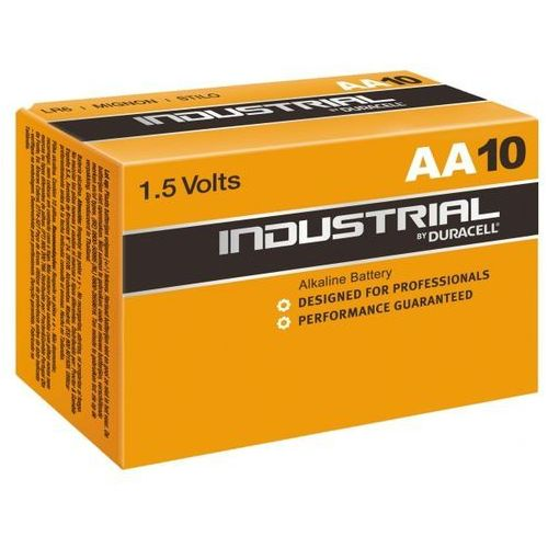 10 x bateria alkaliczna Duracell Industrial LR6 AA