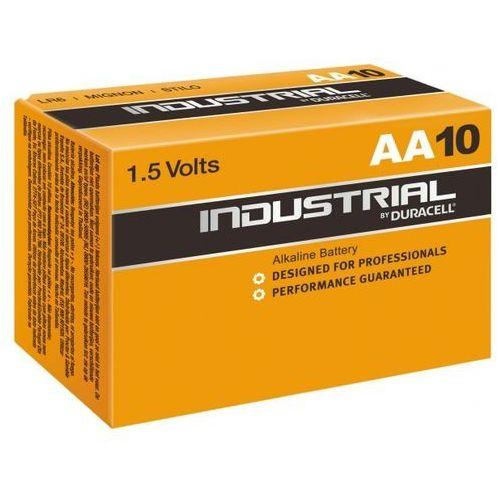 Duracell 10 x bateria alkaliczna  industrial lr6 aa