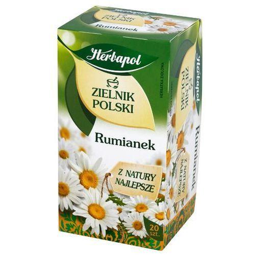 HERBAPOL 20x1,5g Zielnik Polski Rumianek Herbata ziołowa (5900956002316)