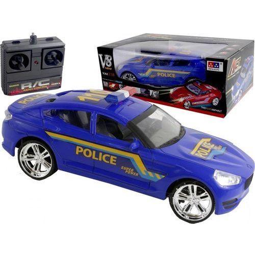 Duży samochód zdalnie sterowany policja radiowóz marki Tmc
