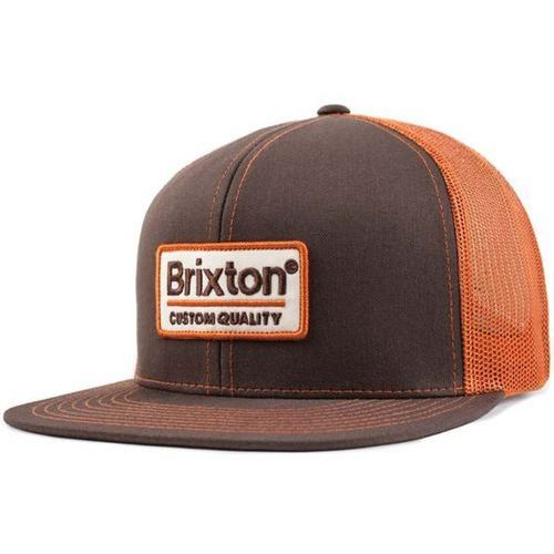 Brixton Czapka z daszkiem  - palmer brown (brown) rozmiar: os