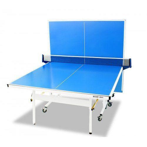 Stół zewnętrzny do ping ponga hiton polska s11 point outdoor z siatką marki Scud