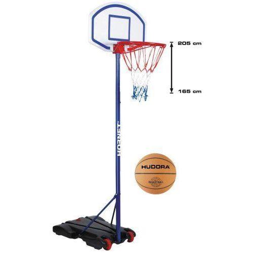 Hudora Kosz hornet 205 - zestaw do koszykówki z piłką