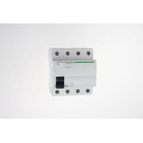 Schneider Wyłącznik różnicowoprądowy 63a 3-fazowy, różnicówka acti9  electrics