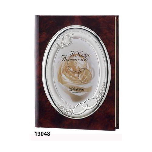 Album na zdjęcia ze skóry na 25 rocznicę ślubu- (v#19048) marki Valenti & co