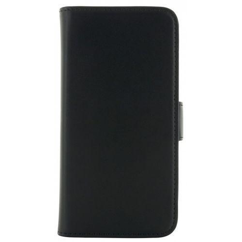 Holdit Etui walletcase magnetic Samsung S6 skóra czarne DARMOWA DOSTAWA DO 400 SALONÓW !! (Futerał telefoniczny)