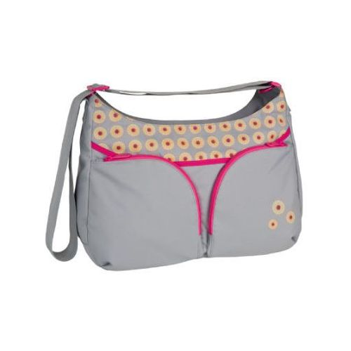 LÄSSIG Torba na akcesoria do przewijania Basic Shoulder Bag Daisy mid grey (4042183333748)