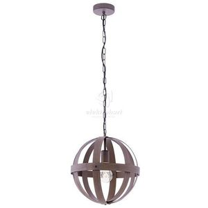 Eglo Lampa wisząca westbury 49482 metalowa oprawa zwis kula rdza (9002759494827)