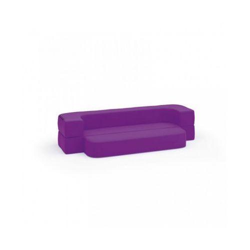 Kanapa softy dziecięca, fioletowa marki B2b partner