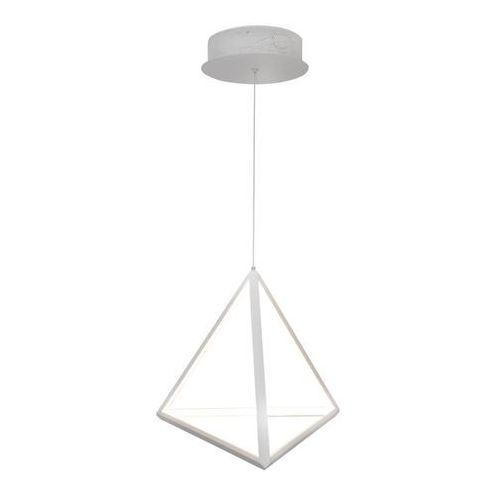 Polux Lampa wisząca trójkąt led 20w 310927 geometryczna oprawa zwieszana biała
