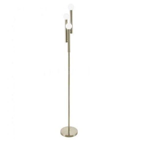 Brilliant lucky lampa stojąca mosiądz, 3-punktowe - nowoczesny - obszar wewnętrzny - lucky - czas dostawy: od 6-10 dni roboczych