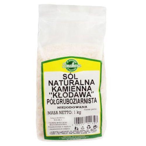 Smakosz Sól naturalna kamienna kłodawa półgruboziarnista niejodowana 1kg. Najniższe ceny, najlepsze promocje w sklepach, opinie.