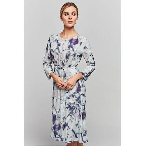 Sukienka w deseń - Patrizia Aryton